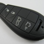 chrysler 4button 433mhz smart key